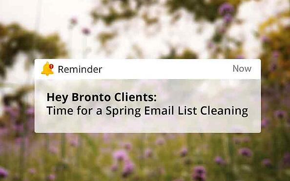 Bronto-Clients--Time-for-a-Spring-Email-List-Cleaning-