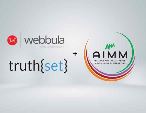 Webbula partners with Truthset and the ANA AIMM to execute benchmark multicultural consumer data quality