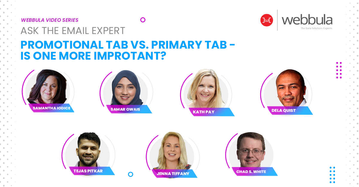 Ask the Experts: Promotional Tab vs. Primary Tab
