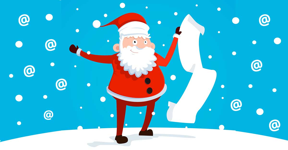 Holiday Email Marketing: How to Stay Off Santa's Email Blacklist