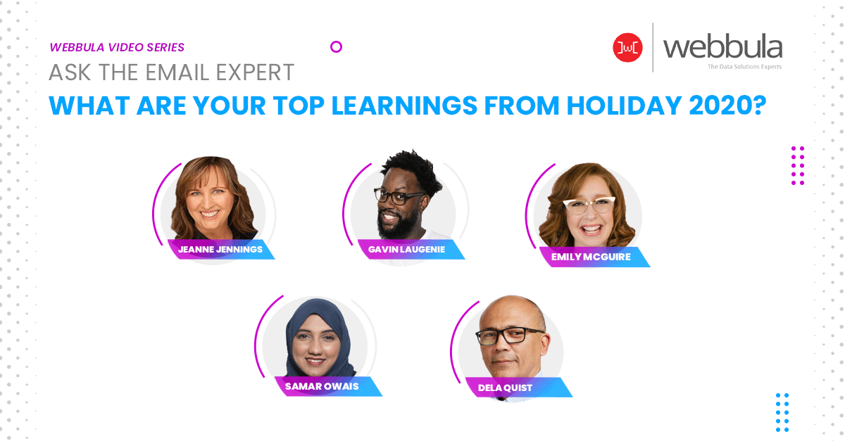 Ask the Experts: What are your top learnings from holiday 2020?